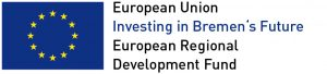 European Regional Development Fund in Bremen (ERDF) Logo