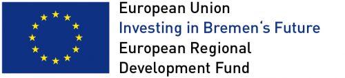 European Regional Development Fund in Bremen (ERDF) Logo